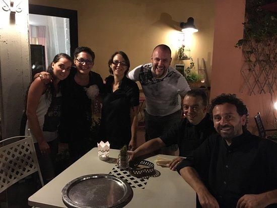 Molino D'Era: Noi e il meraviglioso staff!!