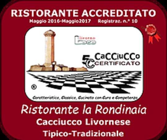 Guasticce, Włochy: Rondinaia per il cacciucco a 5 c marchio brevettato