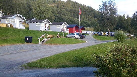 Verdal, Norwegia: Face au fjord