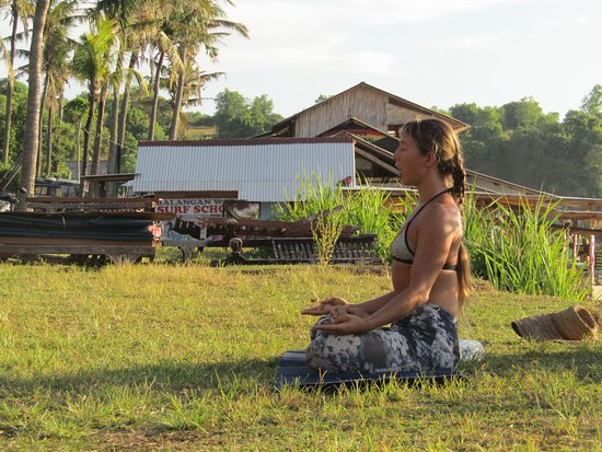 Jimbaran, Endonezya: Инструктор по йоге Виктория