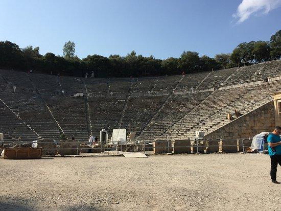Epidavros theatre seats 17000 picture of epidaurus theater epidaurus theater epidavros theatre seats 17000 freerunsca Gallery
