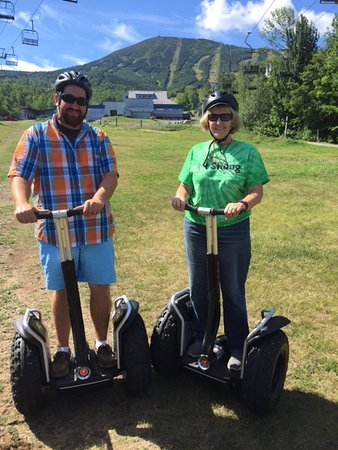 Carrabassett Valley, ME: Segway Tour at Sugarloaf
