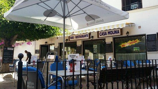 Casa molina almunecar omd men om restauranger tripadvisor for Casa granada tirso de molina