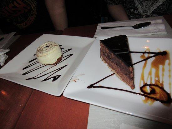 Pizzeria La Piazzetta : Chocolate dessert