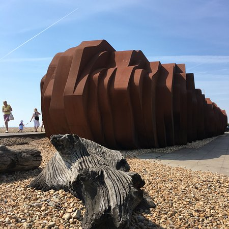 Right on the beach at Littlehampton