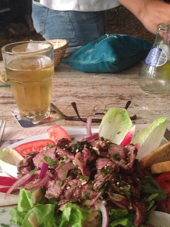 Salade Thai Picture Of Jardin Cabane Bambou Rayol Canadel Sur Mer