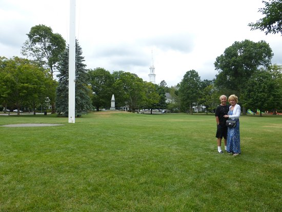 Lexington, MA: View From Near Parker Statue