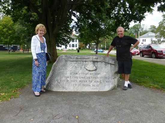 Lexington, MA: Us And Dedication