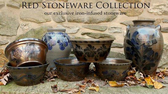 Oxford, PA: Salt-glazed Red Stoneware