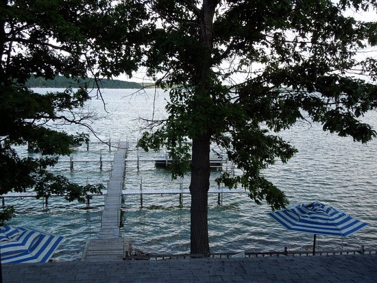 Hubbard Lake, Мичиган: View from Room L4