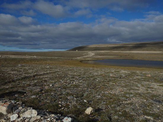 Cambridge Bay, Kanada: The road to Mount Pelly