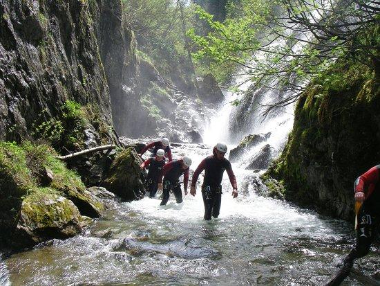 Haiming, Österreich: canyoning austria tirol in the aplenrosen tour
