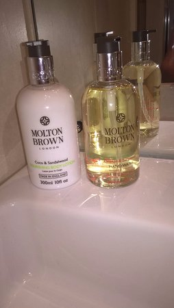 Settle, UK: molton brown toiletries are available in all rooms for that touch of luxury