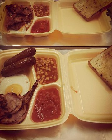 Long Eaton, UK: Breakfast tray