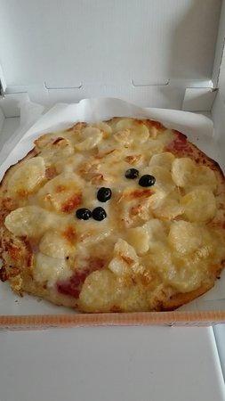 Gond-Pontouvre, Frankrig: Pizza Vérone