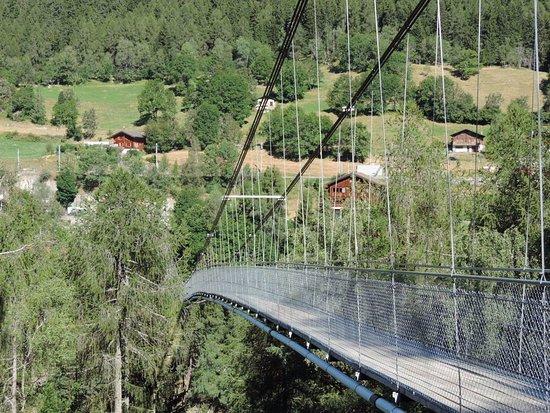 Ernen, Switzerland: Vista del ponte