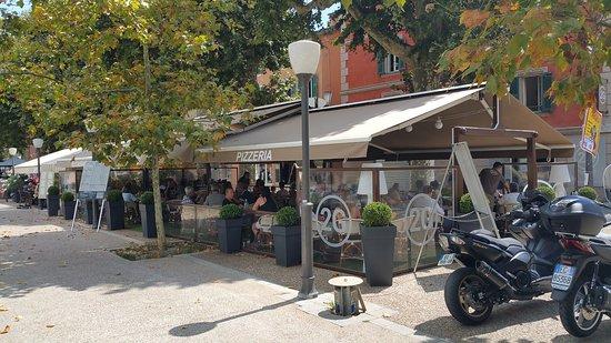 Соспель, Франция: Vue de la terrasse