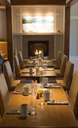 Mount Tremper, نيويورك: Woodnotes Dining Room