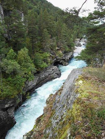 Bjorli, Norwegen: Slettafossen