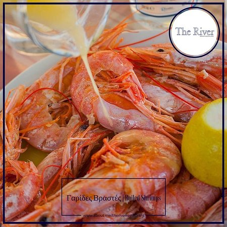 Agia Fotia, Grekland: Γαρίδες Βραστές | Boiled Shrimps