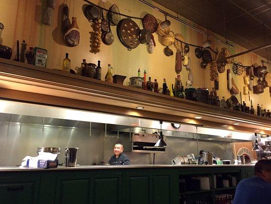 Open Kitchen Area Picture Of Zio S Italian Kitchen Oklahoma City