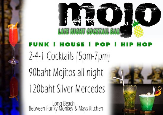 Mojo - Late night Cocktails