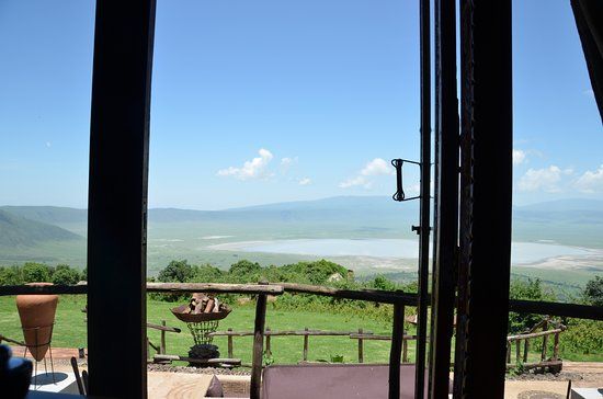andBeyond Ngorongoro Crater Lodge: Breathtaking views from your room