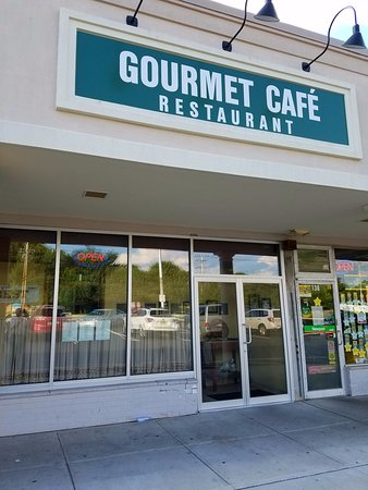 Parsippany, Nueva Jersey: The front of Gourmet Cafe.