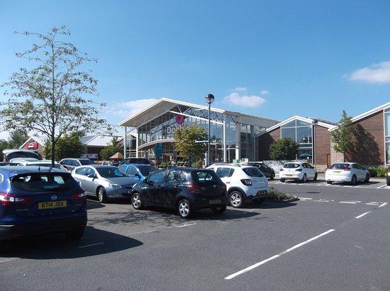 Dobbies Garden Center: The main entrance from the car park