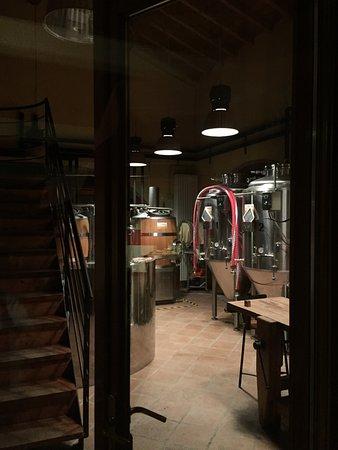 Volta Mantovana, Italie : La zona produzione birra artigianale