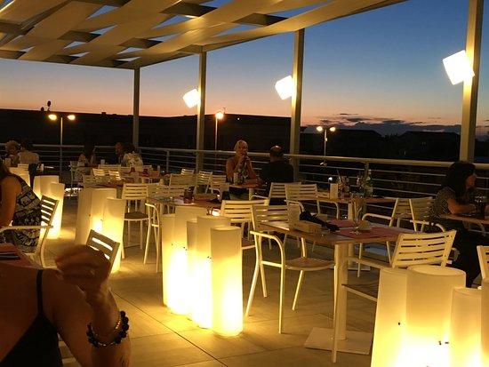 Maserà di Padova, Italien: Il tramonto in terrazza, come in villeggiatura