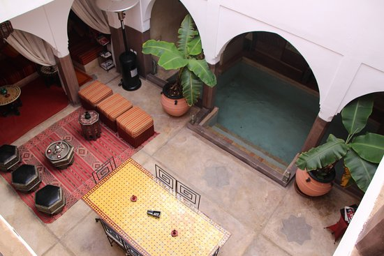 Dar Kamar Zamane: Binnenzwembad riad