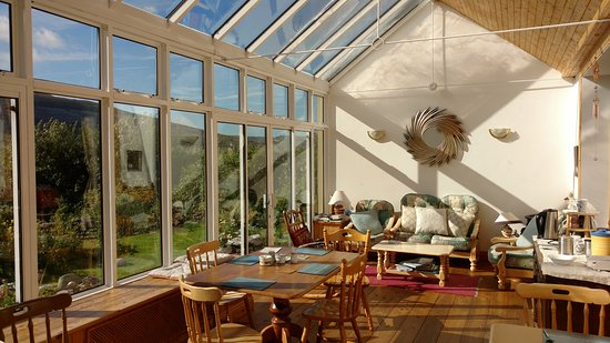 Fanore, Irland: The spectacular breakfast room.