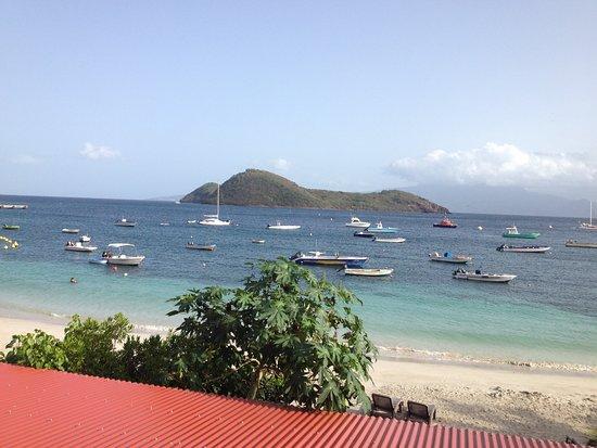 Terre-de-Haut, Guadeloupe: Vue de la chambre...