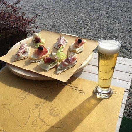 Verucchio, อิตาลี: frappe di piada con vari gusti per i golosoni