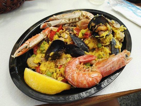 Bonelli, İtalya: Fuori menù: paella