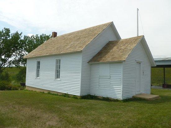 Washburn, ND: One room school house