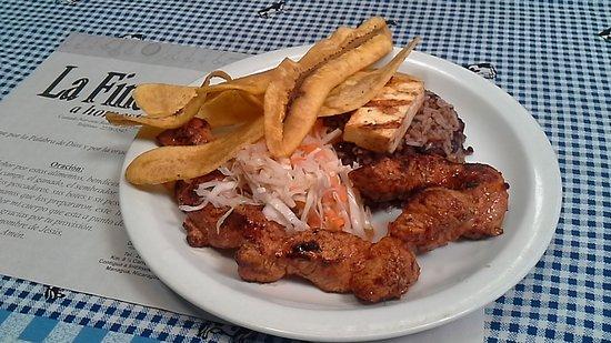 Restaurante La Finca: Carne Asada de Cerdo