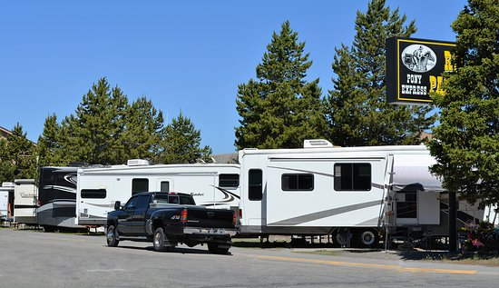 Pony Express Motel : Pony Express RV Park
