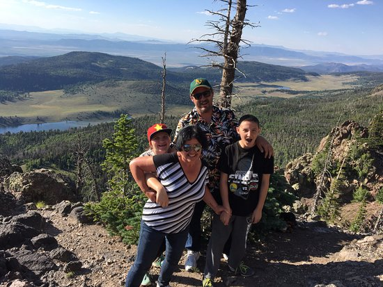 Parowan, UT: On the top of the world.