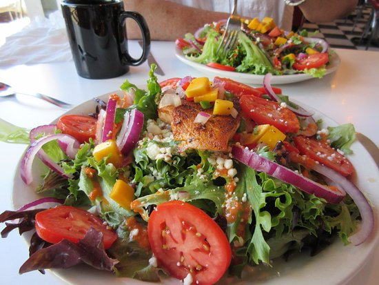 Louisville, CO: Blackened Salmon Salad