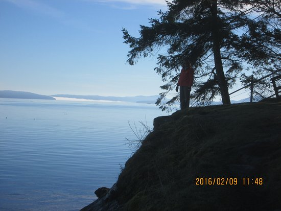 Nanaimo, Canada: bluff on Jack Point