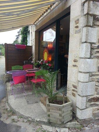Saint-Jacut-de-la-Mer, Francia: la petite terrasse extérieure