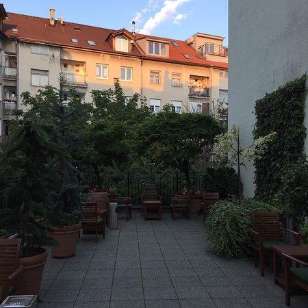 Marrol's Boutique Hotel Bratislava: Terrace at Marrol's Boutique Hotel