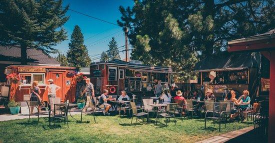 Sisters, Oregón: Our Food Cart Garden