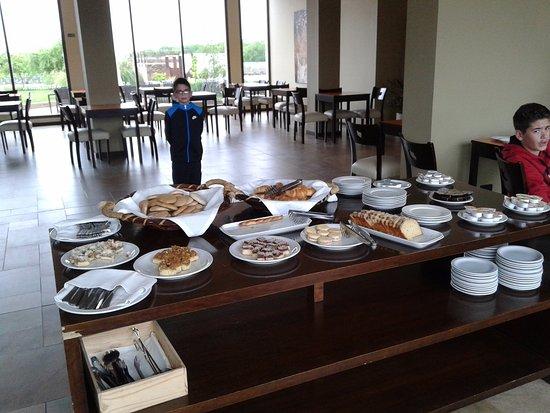 Vista Flores, Argentine : El desayuno
