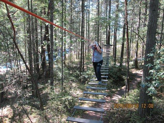 Нанаймо, Канада: Wild play Nanaimo swinging ladder