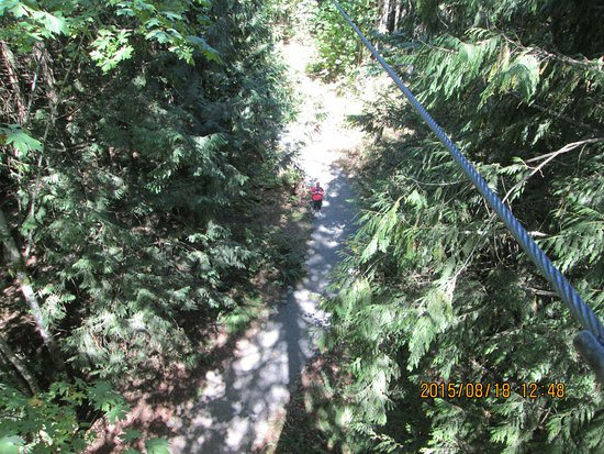 นาไนโม, แคนาดา: Wild play Nanaimo View from the top..zone 2.
