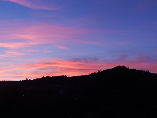 Durban-Corbieres, France: Sunset