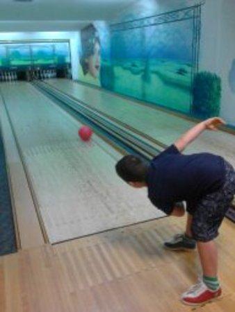 Hotel Alpe: il bowling